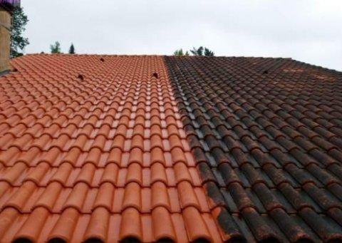 Nettoyage toiture à Bressols
