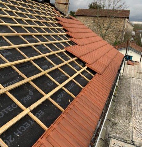 Réfection de toiture à Montech